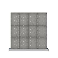 "CLDR312-75 - Image-1 - CL 2"" Drawer Divider Kit, 12 Storage Compartments"