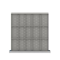 "CLDR415-75 - Image-1 - CL 2"" Drawer Divider Kit, 15 Storage Compartments"