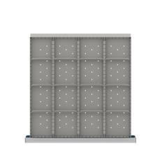 "CLDR316-75 - Image-1 - CL 2"" Drawer Divider Kit, 16 Storage Compartments"