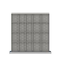"CLDR420-75 - Image-1 - CL 2"" Drawer Divider Kit, 20 Storage Compartments"