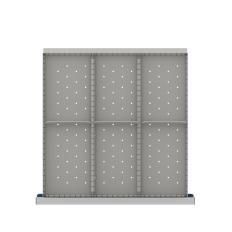 "CLDR206-75 - Image-1 - CL 2"" Drawer Divider Kit, 6 Storage Compartments"