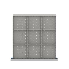 "CLDR209-75 - Image-1 - CL 2"" Drawer Divider Kit, 9 Storage Compartments"