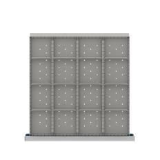 "CLDR316-100 - Image-1 - CL 3"" Drawer Divider Kit, 16 Storage Compartments"