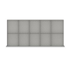 "DWDR410-75 - Image-1 - DW 2"" Drawer Divider Kit, 10 Storage Compartments"