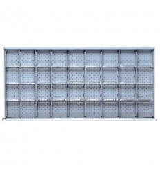 "DWDR836-75 - Image-1 - DW 2"" Drawer Divider Kit, 36 Storage Compartments"