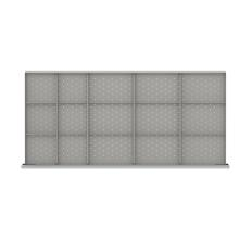 "DWDR415-100 - Image-1 - DW 3"" Drawer Divider Kit, 15 Storage Compartments"