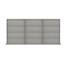 """DWDR-LR312-150 - Image-1 - DW 5"""" Drawer Divider Kit, 12 Storage Compartments"""