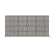 "DWDR940-150 - Image-1 - DW 5"" Drawer Divider Kit, 40 Storage Compartments"