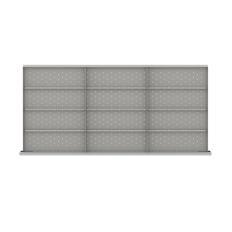 """DWDR-LR312-200 - Image-1 - DW 7"""" Drawer Divider Kit, 12 Storage Compartments"""