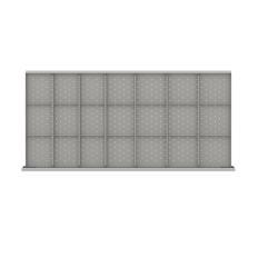 "DWDR621-200 - Image-1 - DW 7"" Drawer Divider Kit, 21 Storage Compartments"