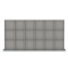 "HDR518-75 - Image-1 - HS 2"" Drawer Divider Kit, 18 Storage Compartments"