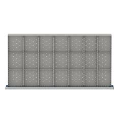 "HDR621-75 - Image-1 - HS 2"" Drawer Divider Kit, 21 Storage Compartments"