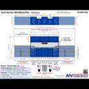 TSB750-DB02-LB4 Double Bay Workbench TSB750-DB02 with +4 in. Base, Image 15194.jpg
