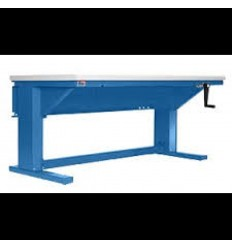 JY99117 Two 48X30 Align Manual Adjustable Height Bench Bases, Image 15251.jpg