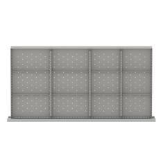 "HDR312-100 - Image-1 - HS 3"" Drawer Divider Kit, 12 Storage Compartments"