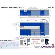 TSB750-SB19-LB2 Single Bay Workbench, Image 15310.jpg