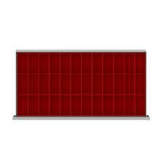 "HDR036-100 - Image-1 - HS 3"" Drawer Divider Kit, 36 Plastic Boxes"