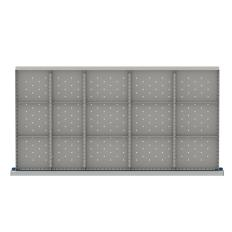 "HDR415-150 - Image-1 - HS 5"" Drawer Divider Kit, 15 Storage Compartments"