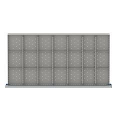 "HDR621-150 - Image-1 - HS 5"" Drawer Divider Kit, 21 Storage Compartments"