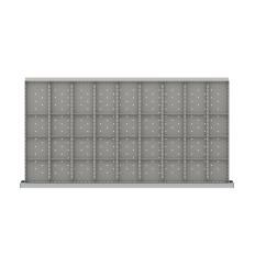 "HDR836-150 - Image-1 - HS 5"" Drawer Divider Kit, 36 Storage Compartments"