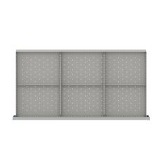"HDR206-200 - Image-1 - HS 7"" Drawer Divider Kit, 6 Storage Compartments"
