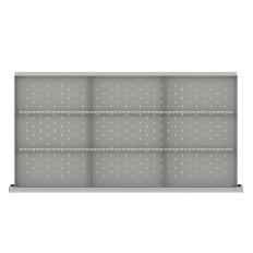 "HDR-LR209-200 - Image-1 - HS 7"" Drawer Divider Kit, 9 Storage Compartments"