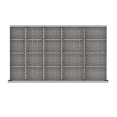 """MWDR420-250 - Image-1 - MW 9"""" Drawer Divider Kit, 20 Storage Compartments"""