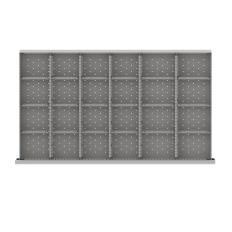 """MWDR524-250 - Image-1 - MW 9"""" Drawer Divider Kit, 24 Storage Compartments"""