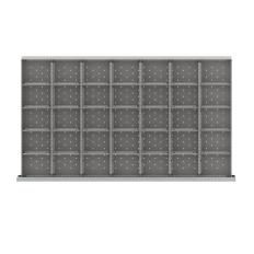 """MWDR635-250 - Image-1 - MW 9"""" Drawer Divider Kit, 35 Storage Compartments"""