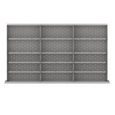 "MWDR-LR415-100 - Image-1 - MW 3"" Drawer Divider Kit, 15 Storage Compartments"