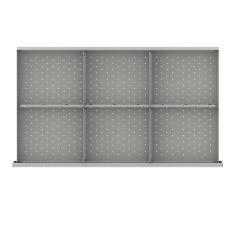 "MWDR-LR106-100 - Image-1 - MW 3"" Drawer Divider Kit, 6 Storage Compartments"