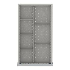 "NWDR107-75 - Image-1 - NW 2"" Drawer Divider Kit, 7 Storage Compartments"