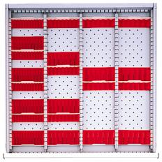 "DR3PG-75 - Image-1 - SC 2"" Drawer Divider Kit"