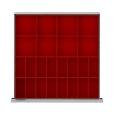 "DR024-75 - Image-1 - SC 2"" Drawer Divider Kit, 24 Plastic Boxes"