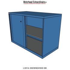 XSDWSD0900 - Image-1 - DW900 Double Width Shelf Cabinet with Doors