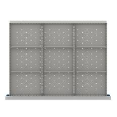 "SDR209-75 - Image-1 - ST 2"" Drawer Divider Kit, 9 Storage Compartments"