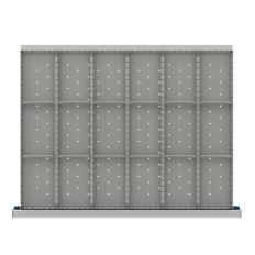 "SDR518-200 - Image-1 - ST 7"" Drawer Divider Kit, 18 Storage Compartments"