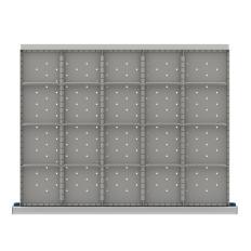 "SDR420-200 - Image-1 - ST 7"" Drawer Divider Kit, 20 Storage Compartments"