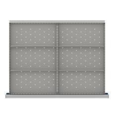 "SDR106-250 - Image-1 - ST 9"" Drawer Divider Kit, 6 Storage Compartments"