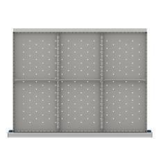 "SDR206-250 - Image-1 - ST 9"" Drawer Divider Kit, 6 Storage Compartments"