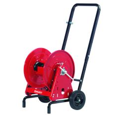 "RC-600966 - Image-1 - Hose Reel Cart, Holds 200' Of 5/8"" Garden Hose, Rubber Tires"