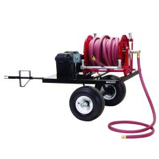 RC-600911 - Image-1 - Hose Reel Trailer With Hand Crank Reel