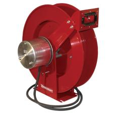 RC-WC80002 - Image-1 - 100' Of #2/0, Arc Welding Cable Reel, Spring Reel