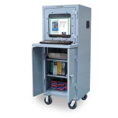 ST-25-CC-242-CA - Image-1 - 26x24x60 Mobile Computer Cabinet