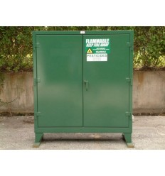 ST-60.5GRN/PE/SC - Image-1 - 58x18x60 Pesticide Safety Green Cabinet
