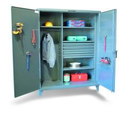 ST-36-W-244-4DB - Image-1 - 36x24x72 Wardrobe Cabinet, Drawers