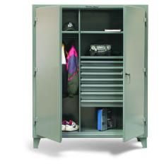 ST-46-W-243-7DB - Image-1 - 48x24x72 Wardrobe Cabinet, Drawers