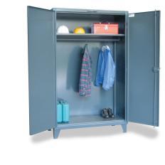 ST-55-WR-241 - Image-1 - 60x24x60 Wardrobe Cabinet, Full Width Rod