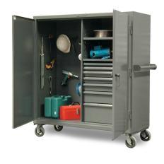 ST-45-242-7/5DB-CA - Image-1 - 48x24x60 Drawer Mobile Job Storage
