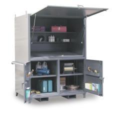 ST-56.5-3D-423JSB - Image-1 - 60x42x76 Portable Job Site Cabinet